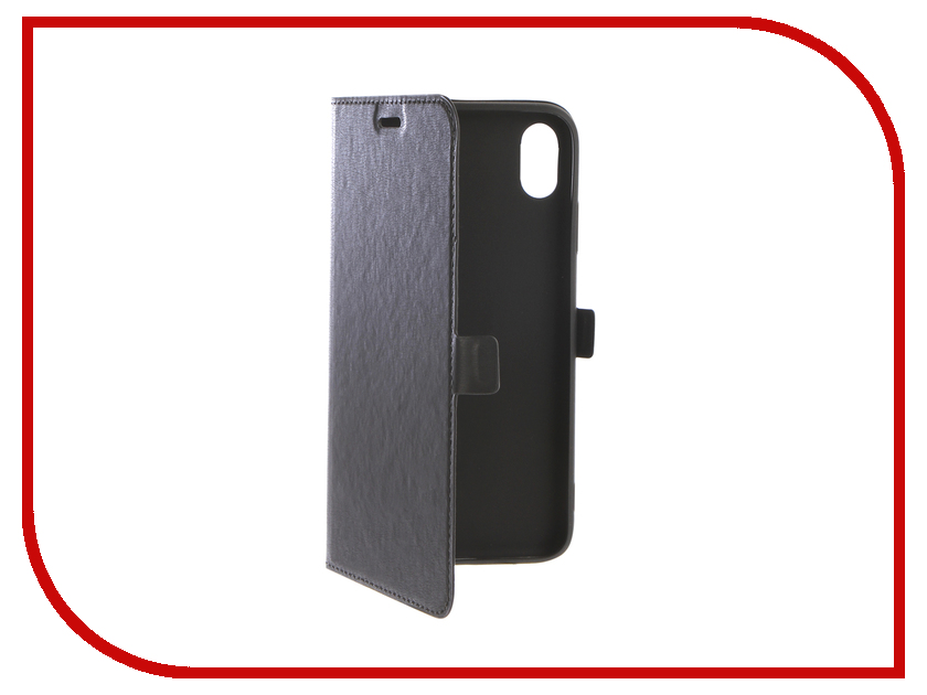 Аксессуар Чехол DF для APPLE iPhone XS Max iFlip-04 Black df
