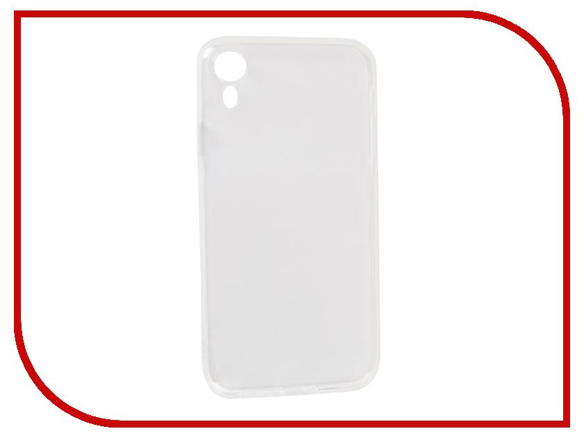 Аксессуар Чехол DF для Silicone Super Slim APPLE iPhone XR iCase-11 Transparent съёмник подшипников шарнирный kraft двухлапый 150 мм cr v kt 701028