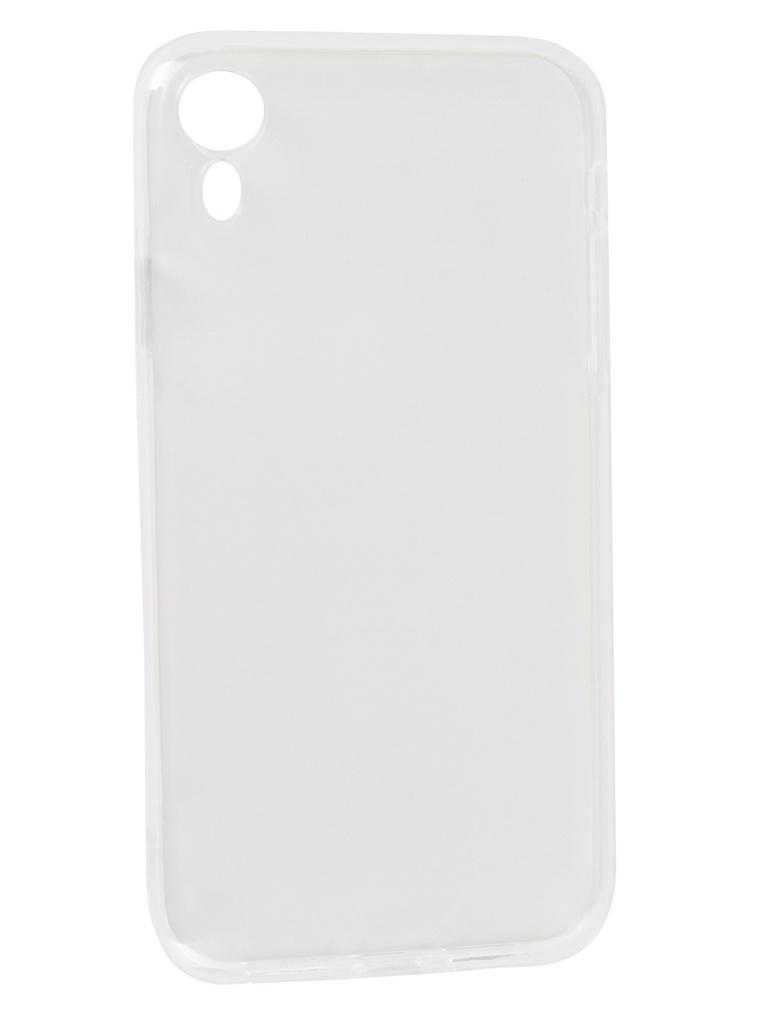 купить Аксессуар Чехол DF для APPLE iPhone XR Silicone Super Slim iCase-11 Transparent недорого