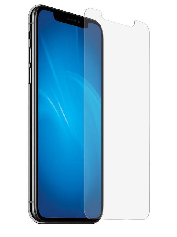 Защитное стекло DF для APPLE iPhone X / XS iSteel-20