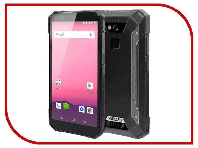 Сотовый телефон Ginzzu RS9602 Black ginzzu rs74d black
