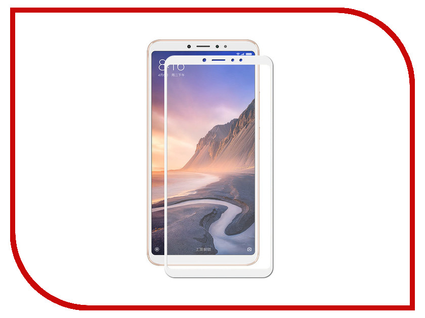 Аксессуар Защитное стекло для Xiaomi Mi Max 3 Svekla Full Screen White ZS-SVXIMIMAX3-FSWH аксессуар защитное стекло для xiaomi redmi note 6 svekla full screen white zs svxiredn6 fswh