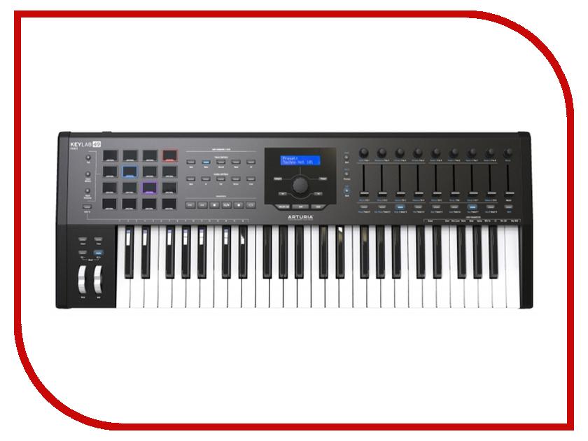 MIDI-клавиатура Arturia KeyLab mkII 49 Black midi контроллер arturia beatstep white