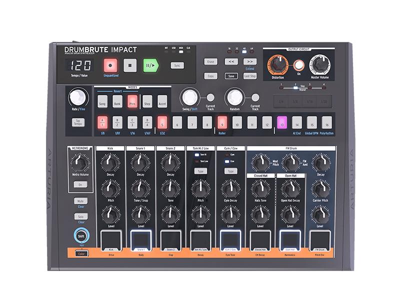 MIDI-контроллер Arturia DrumBrute Impact