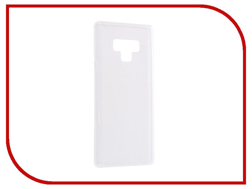 Аксессуар Чехол для Samsung Galaxy Note 9 N960F Svekla Transparent SV-SGN960F-WH аксессуар чехол lg k8 2017 gecko transparent glossy white s g lgk8 2017 wh