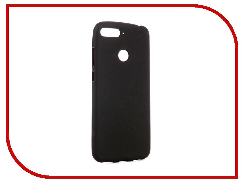 Аксессуар Чехол для Huawei Y6 Prime 2018 Svekla Silicone Black SV-HWY6P2018-MBL аксессуар чехол для samsung galaxy a5 2017 a520f svekla silicone black sv sga520f mbl
