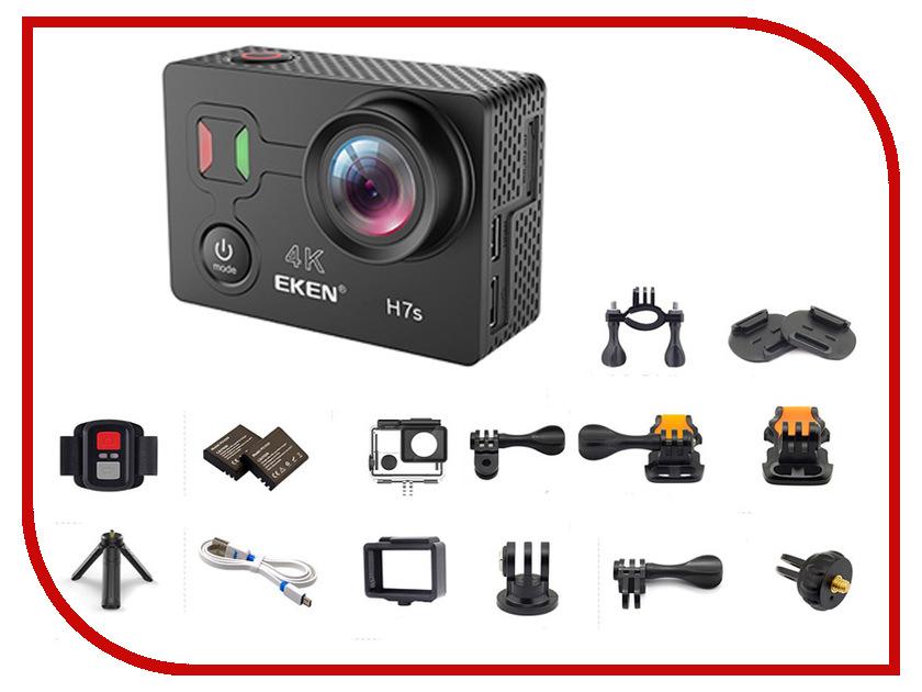 Экшн-камера EKEN H7S Ultra HD Black