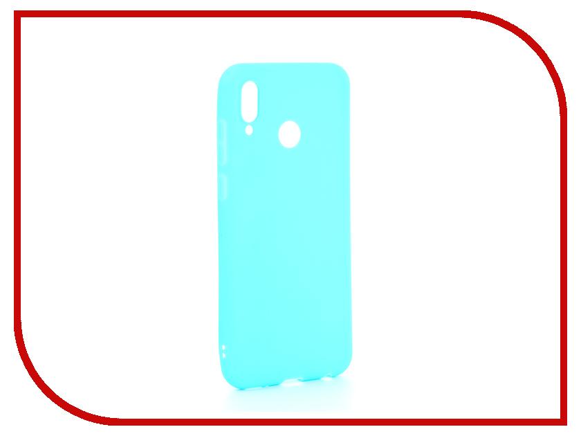 Аксессуар Чехол для Huawei Honor Play Zibelino Soft Matte Turquoise ZSM-HUA-PL-TQS аксессуар чехол для samsung galaxy j4 2018 j400f zibelino soft matte turquoise zsm sam j400f tqs