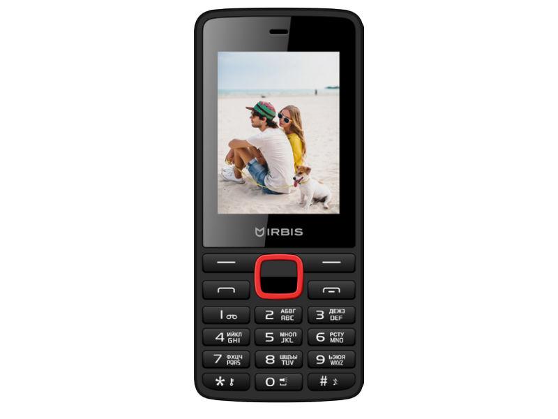 Сотовый телефон Irbis SF19 Black-Red все цены