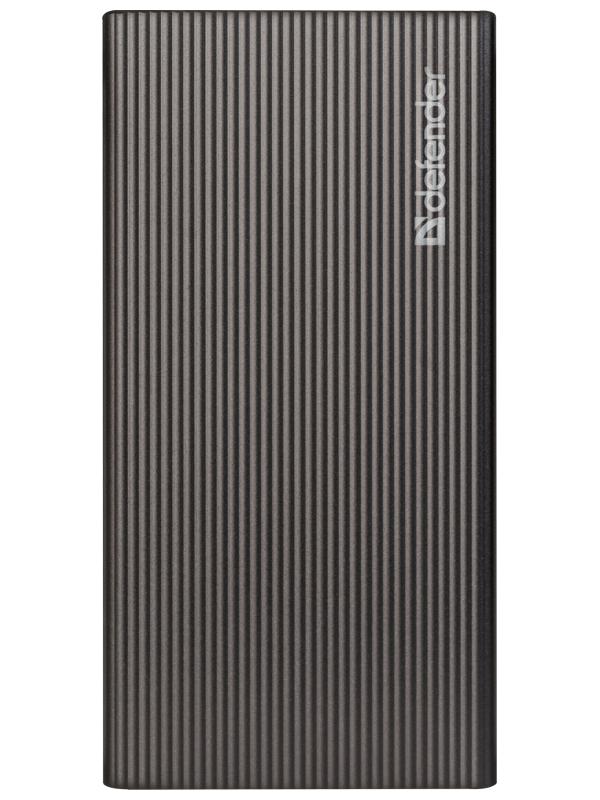 Фото - Внешний аккумулятор Defender Power Bank ExtraLife Fast 5000B 5000mAh Black 83627 аккумулятор