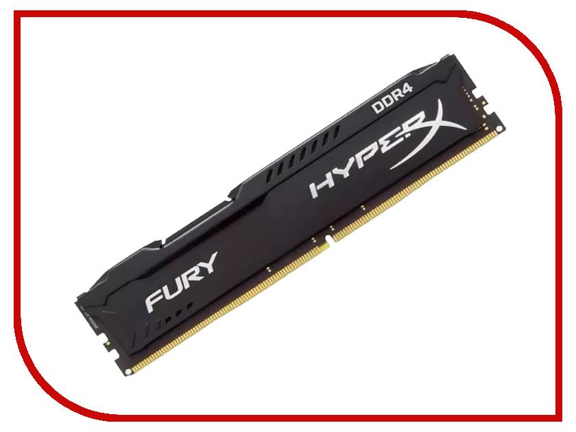 Модуль памяти Kingston HyperX Fury Black DDR4 DIMM 3200MHz PC-25600 CL18 - 8Gb HX432C18FB2/8