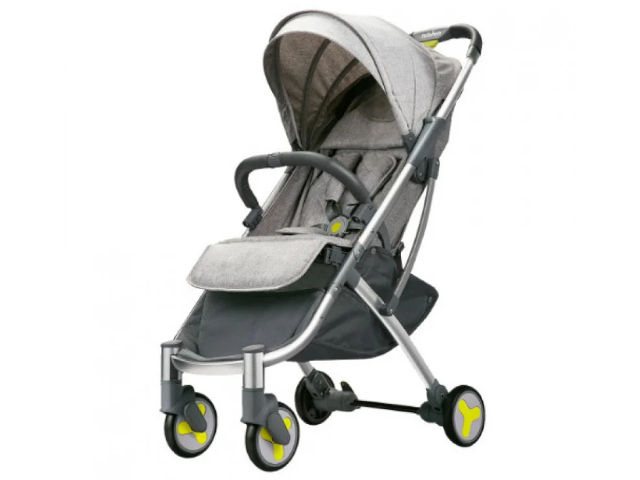 Коляска Xiaomi Bebehoo Start Lightweight Four-wheeled Stroller Grey