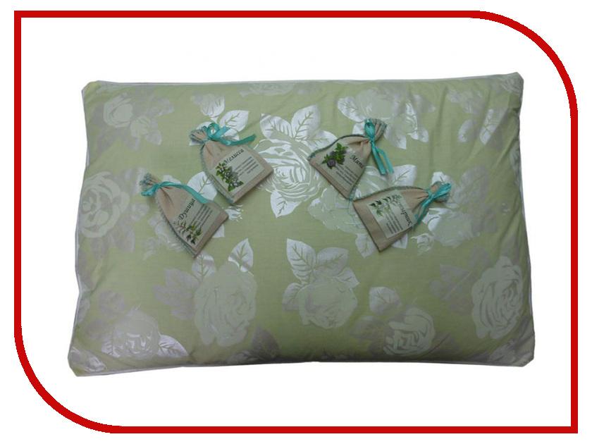Ортопедическая подушка Smart Textile Золотая пропорция + магазин ароматов 40x60cm Lime-Green E377
