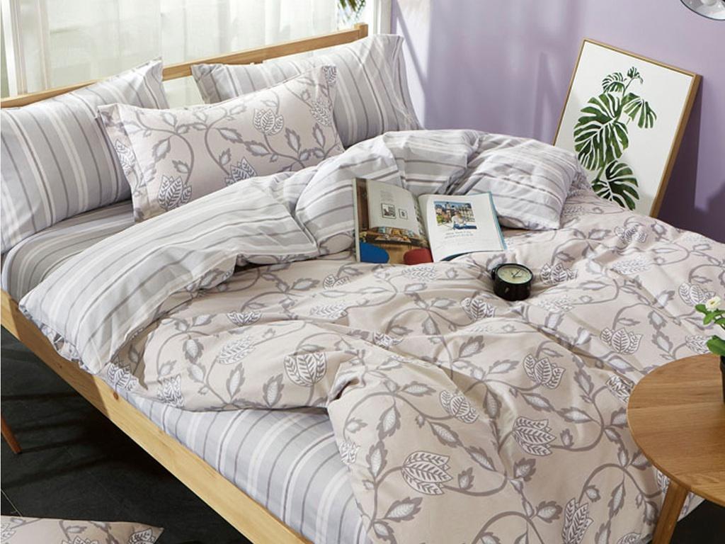 Постельное белье Art Cotton Нежное прикосновение Комплект Дуэт Сатин