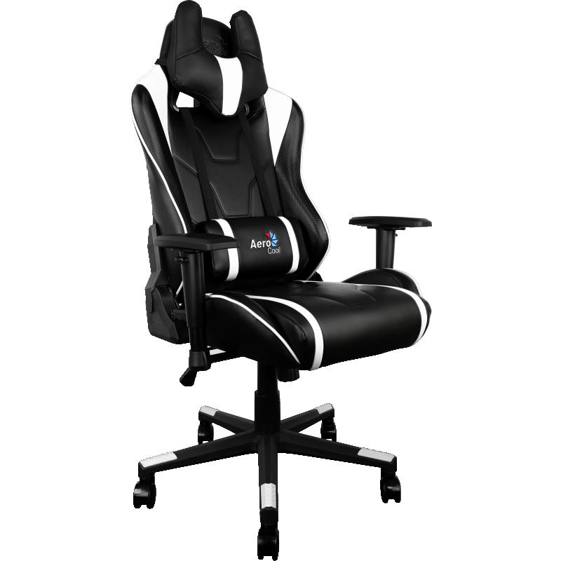 Компьютерное кресло AeroCool AC220 AIR-BW Выгодный набор + серт. 200Р!!!