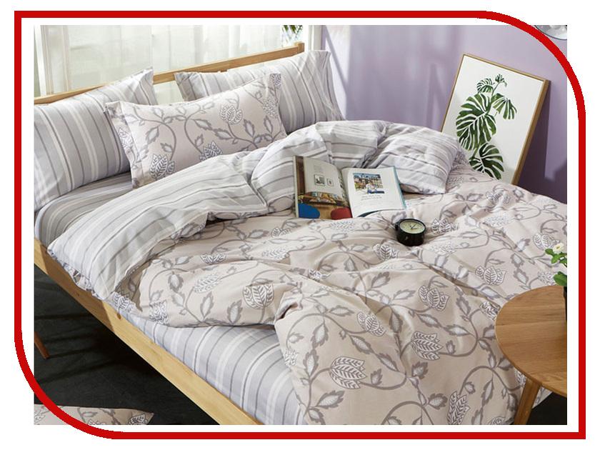 Постельное белье Хлопковый Рай Нежное прикосновение Комплект 2 спальный Сатин