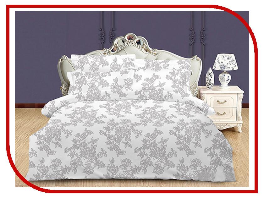 Постельное белье Хлопковый Рай Нежность Комплект 2 спальный Сатин