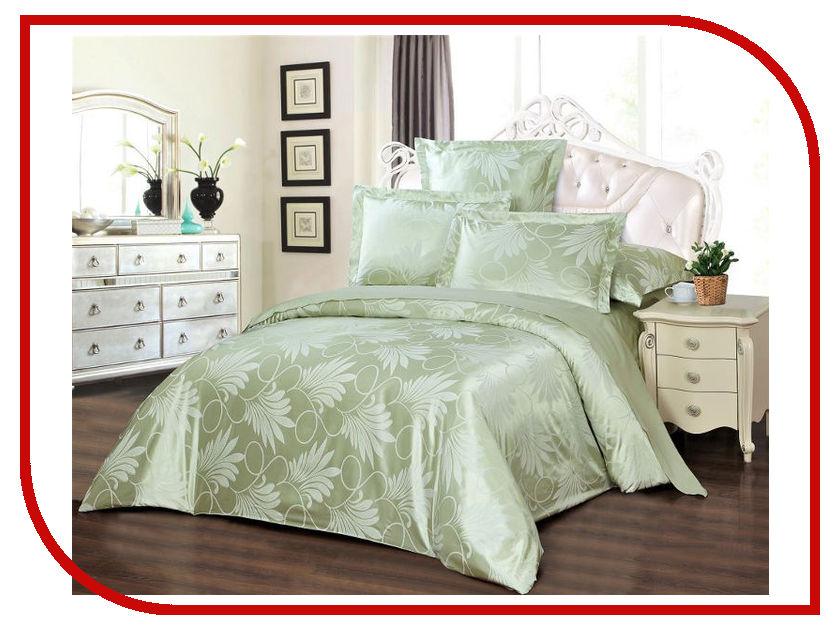 Постельное белье Хлопковый Рай Кристина Комплект 2 спальный Сатин-жаккард постельное белье estro c96 комплект 2 спальный сатин