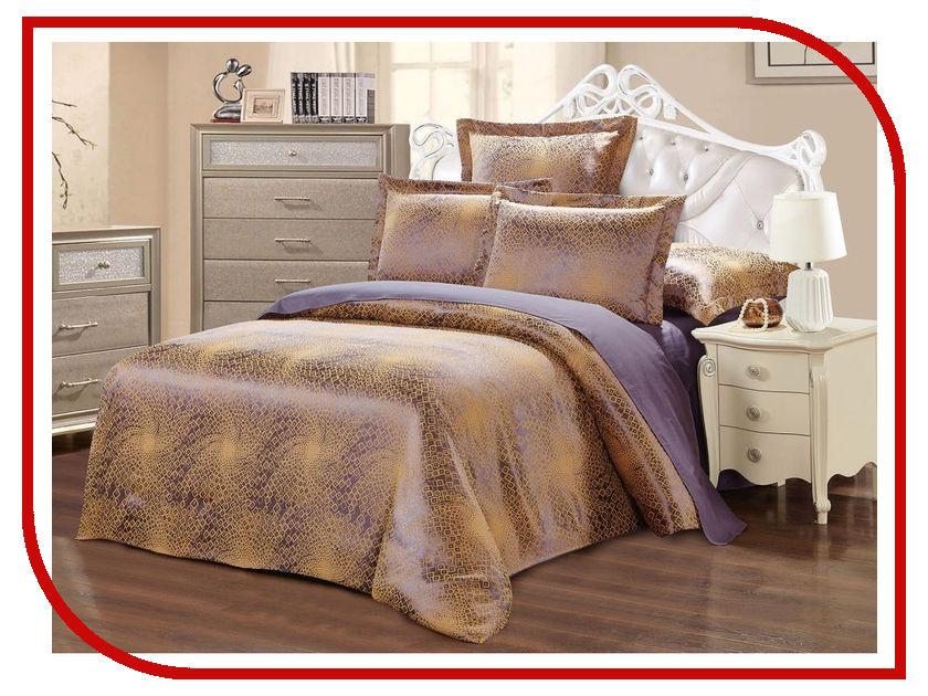 Постельное белье Хлопковый Рай Симона Комплект 2 спальный Сатин-жаккард постельное белье estro c96 комплект 2 спальный сатин