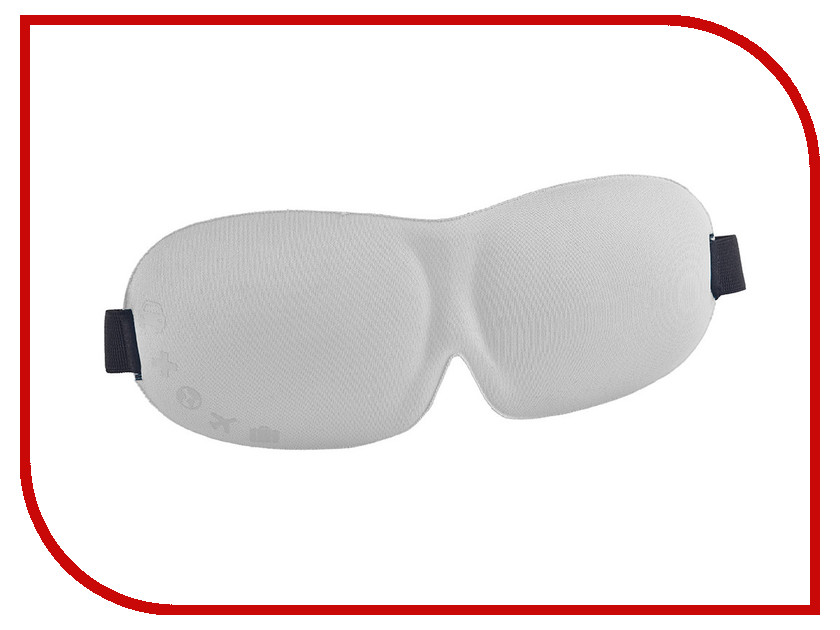 3D повязка для сна ROMIX RH37 Grey 30365 аксессуары для сна none 1 3d