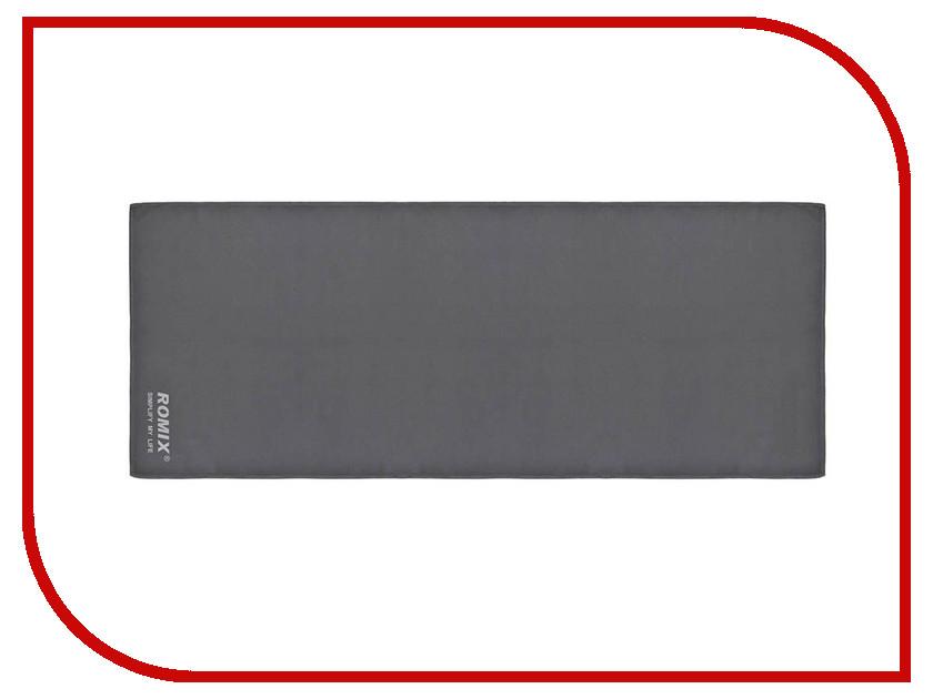 Полотенце ROMIX RH38 30x90cm Grey 30367 romix rh18 sports arm bag