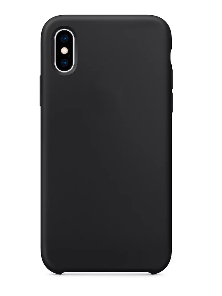 Аксессуар Чехол APPLE iPhone XS Silicone Case Black MRW72ZM/A