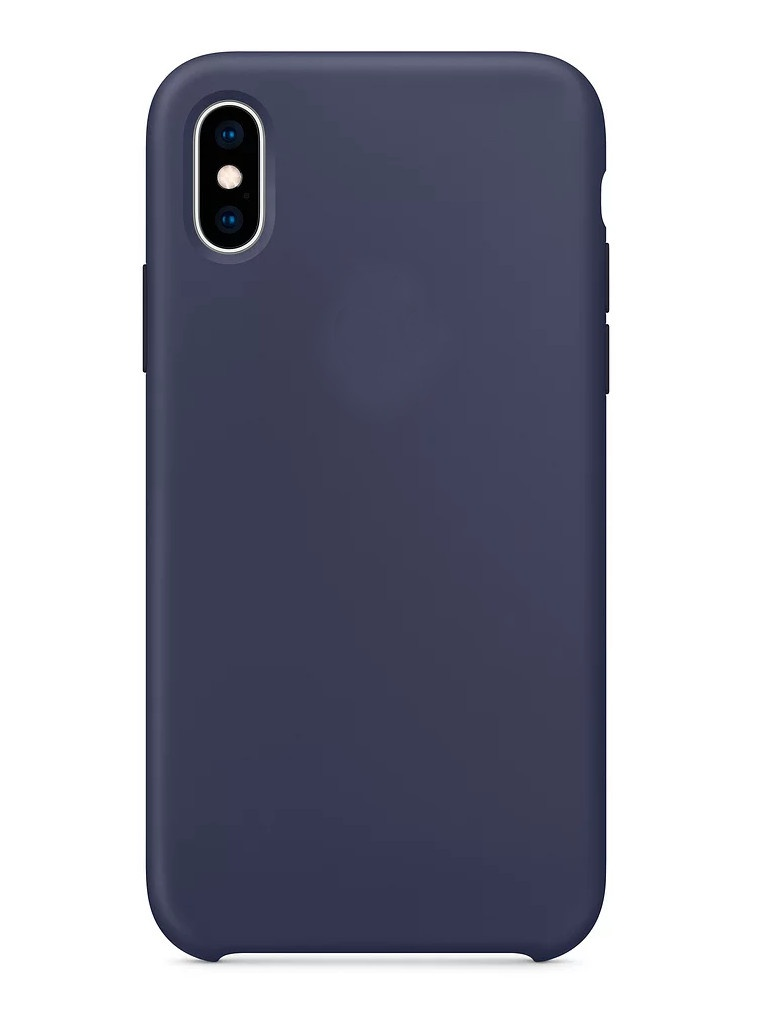 Аксессуар Чехол APPLE iPhone XS Silicone Case Midnight Blue MRW92ZM/A