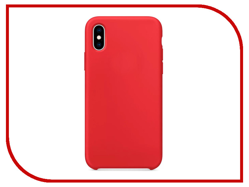 все цены на Аксессуар Чехол APPLE iPhone XS Silicone Case Product Red MRWC2ZM/A онлайн