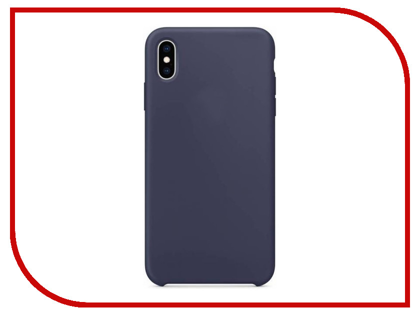 все цены на Аксессуар Чехол APPLE iPhone XS Max Silicone Case Midnight Blue MRWG2ZM/A онлайн