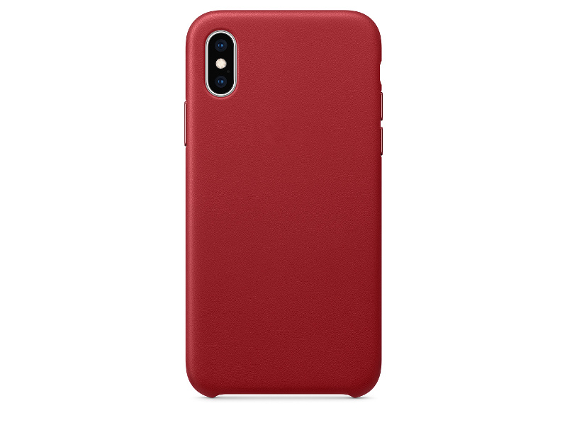 Чехол APPLE iPhone XS Leather Case Product Red MRWK2ZM/A