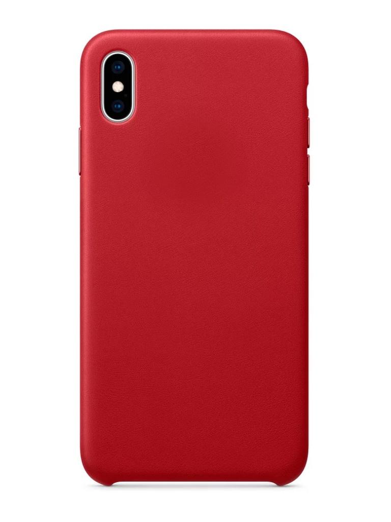 Аксессуар Чехол APPLE iPhone XS Max Leather Case Product Red MRWQ2ZM/A аксессуар чехол apple iphone x leather case product red mqte2zm a