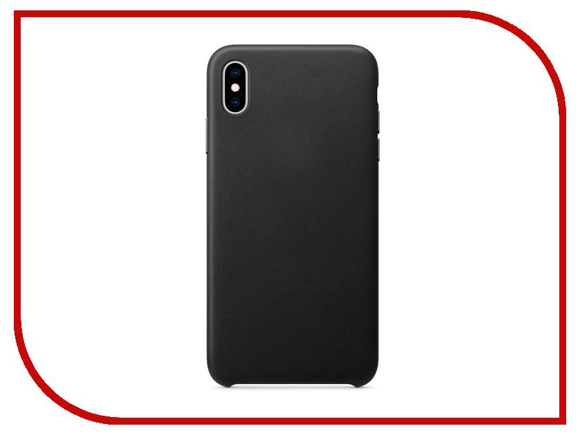 Аксессуар Чехол APPLE iPhone XS Max Leather Case Black MRWT2ZM/A stylish protective pu leather case for htc one max t6 orange