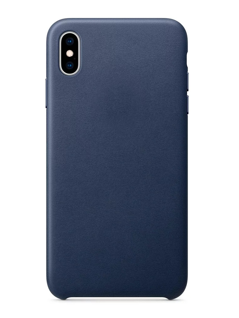 Аксессуар Чехол APPLE iPhone XS Max Leather Case Midnight Blue MRWU2ZM/A аксессуар чехол apple iphone x leather case electric blue mrgg2zm a