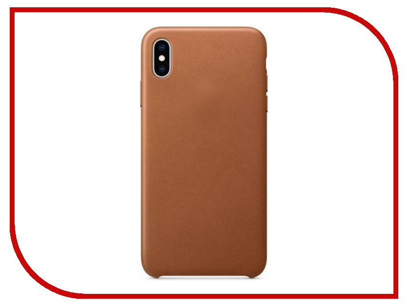 Аксессуар Чехол APPLE iPhone XS Max Leather Case Saddle Brown MRWV2ZM/A чехол для apple iphone 8 7 silicone case white