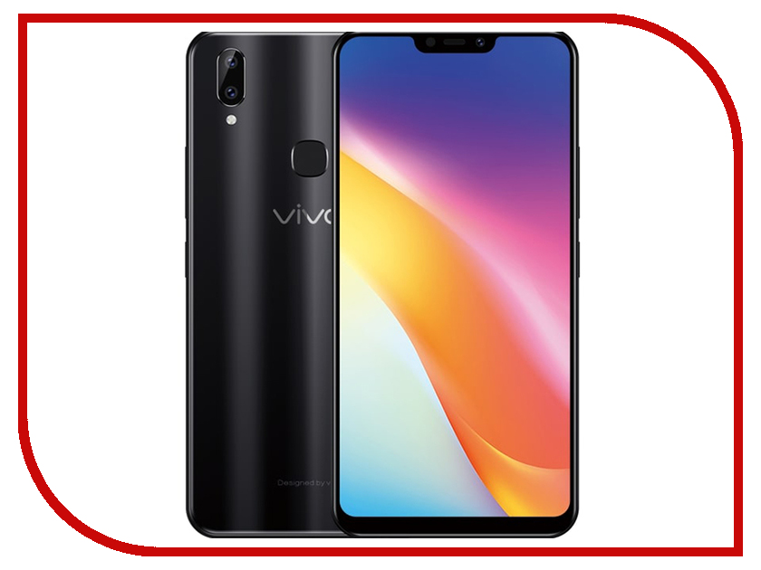 Сотовый телефон Vivo Y85 64GB Black сотовый телефон lg m700an q6 64gb black