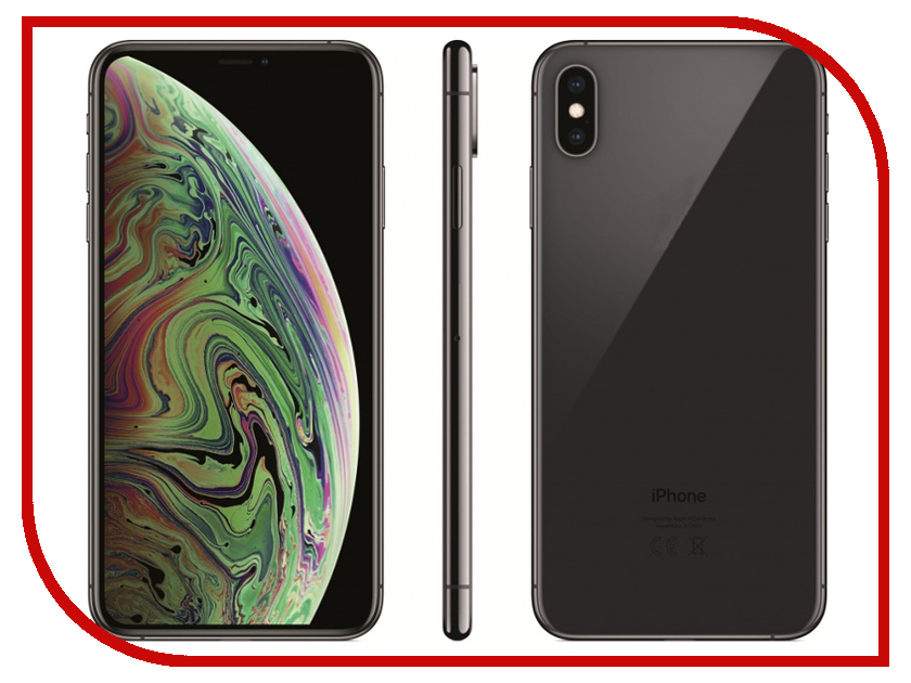Сотовый телефон Apple iPhone Xs Max 256GB Space Grey MT532RU/A телефон apple iphone xs max 512gb a2101 space gray