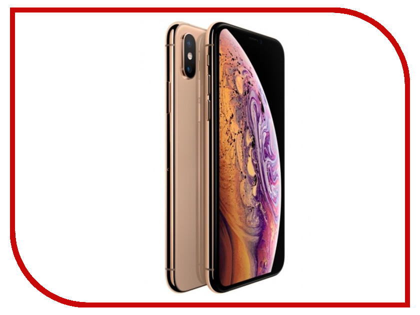 Сотовый телефон Apple iPhone Xs 64GB Gold MT9G2RU/A телефон apple iphone 6 16gb gold