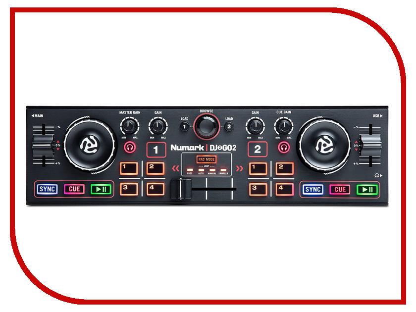 Dj контроллер Numark DJ2GO2 numark dj2go