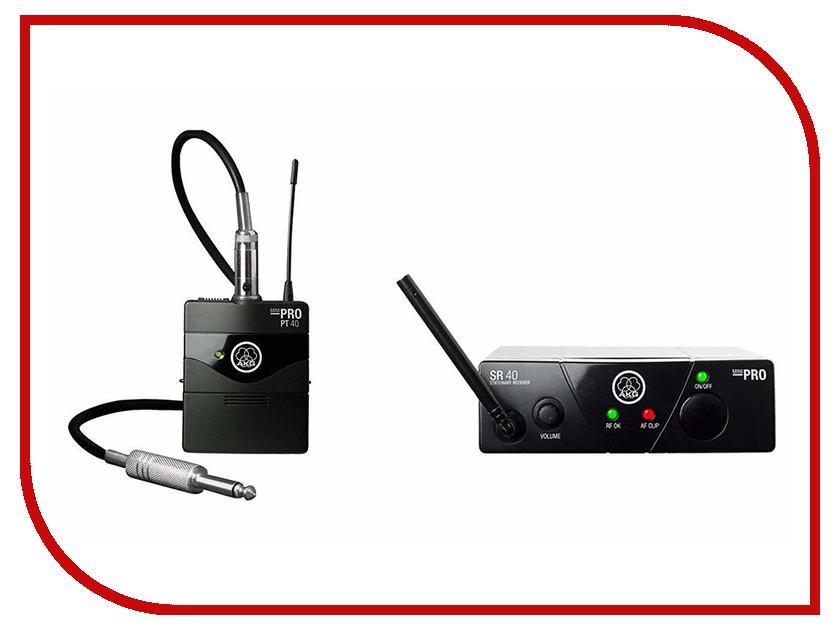 Радиосистема AKG WMS40 Mini Instrumental Set BD US25D akg n90q