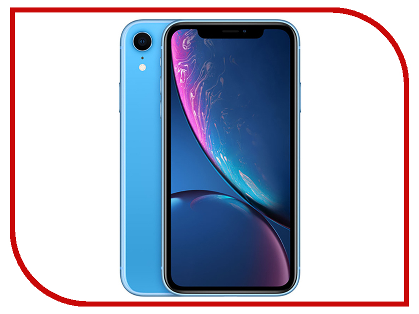 Сотовый телефон APPLE iPhone XR - 256Gb Blue MRYQ2RU/A