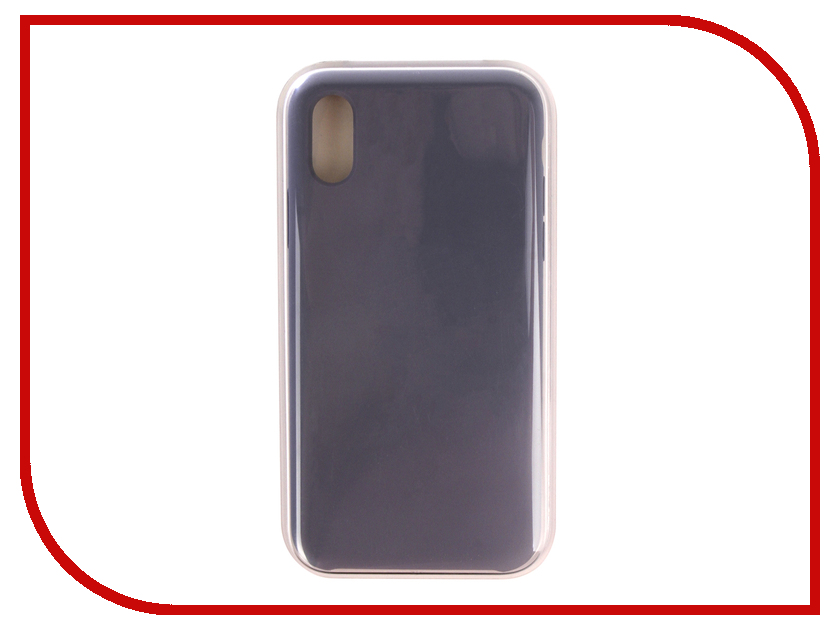 Аксессуар Чехол APPLE iPhone XS Silicone Case Lavender Gray MTFC2ZM/A аксессуар