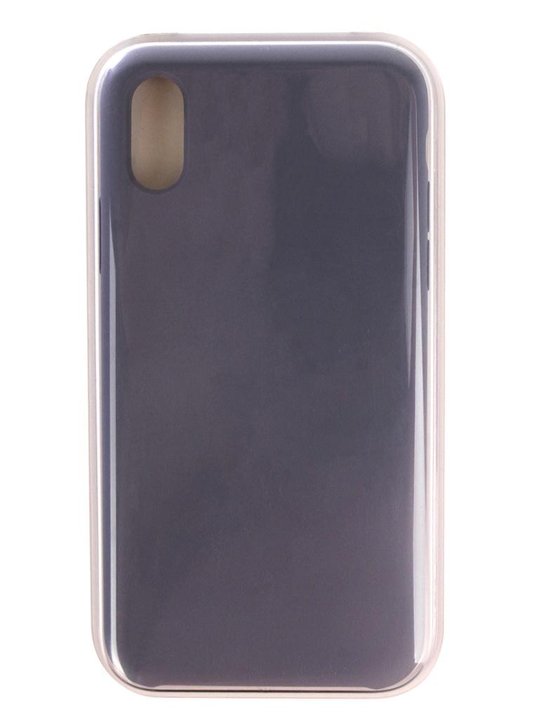 Аксессуар Чехол APPLE iPhone XS Silicone Case Lavender Gray MTFC2ZM/A аксессуар чехол apple iphone xs silicone case midnight blue mrw92zm a