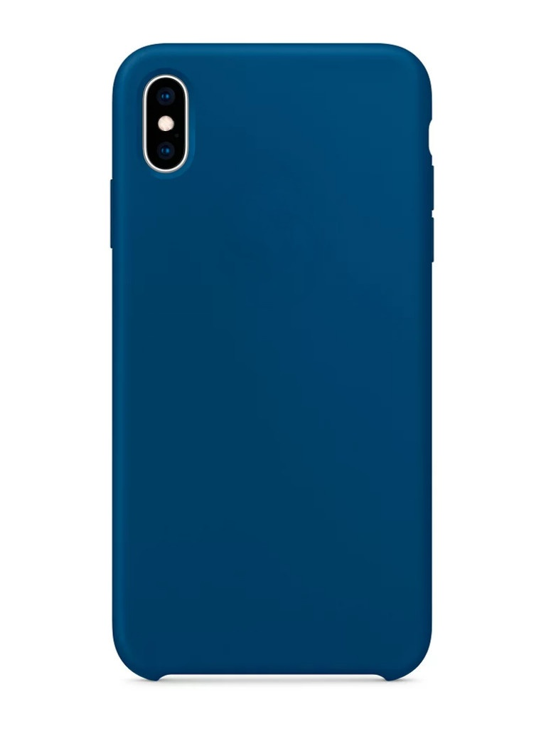 Чехол APPLE iPhone XS Max Silicone Case Blue Horizon MTFE2ZM/A