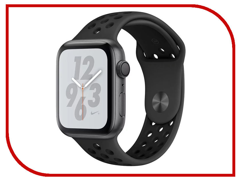 Умные часы APPLE Watch Nike+ Series 4 44mm Space Grey Aluminium Case with Anthracite-Black Nike Sport Band MU6L2RU/A воблер tsuribito pop f цвет 003 75 мм