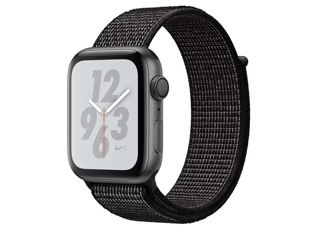 Умные часы APPLE Watch Nike+ Series 4 40mm Space Grey Aluminium Case with Black Nike Sport Loop MU7G2RU/A