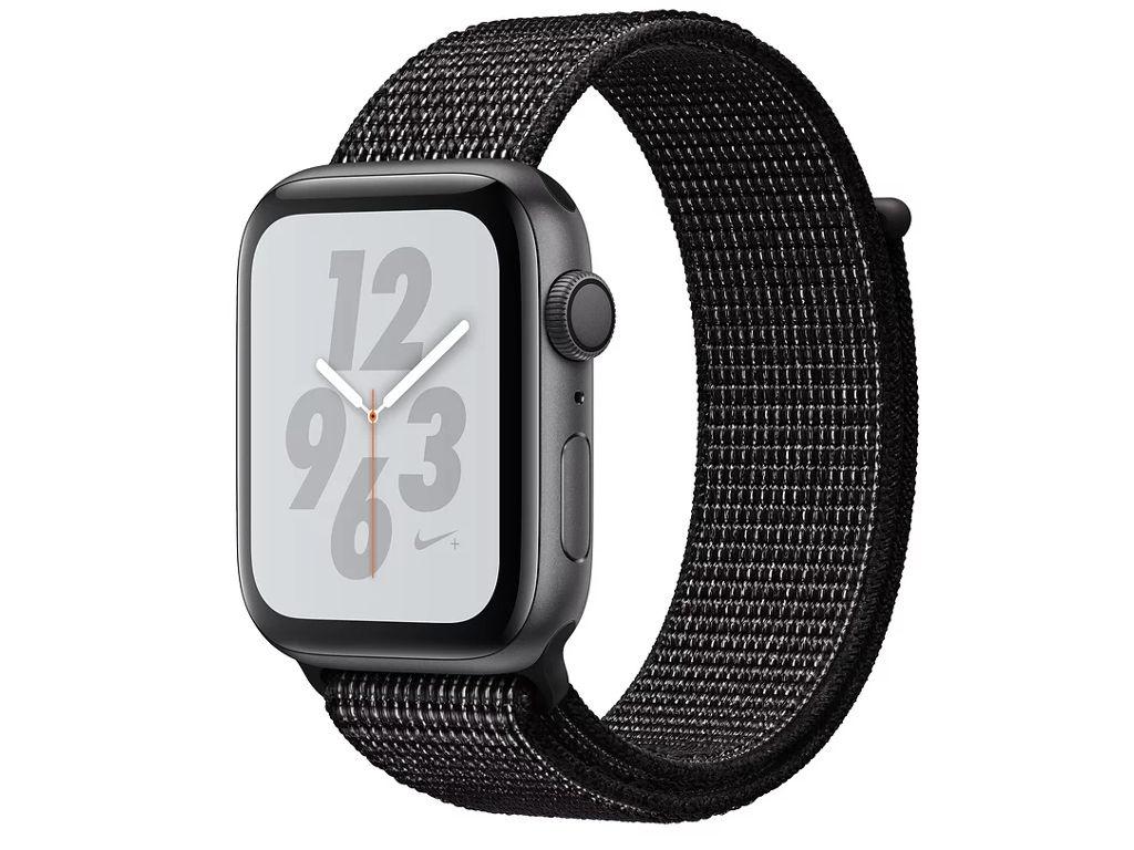 Умные часы APPLEWatch Nike+ Series4 44mm Space Grey Aluminium Case with Black Nike Sport Loop MU7J2RU/A