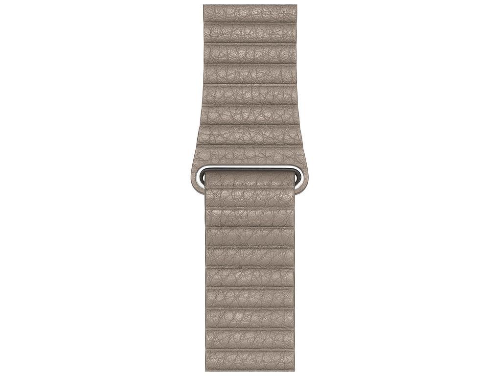 Аксессуар Ремешок APPLE Watch 44mm Leather Loop Large Stone MTHD2ZM/A аксессуар