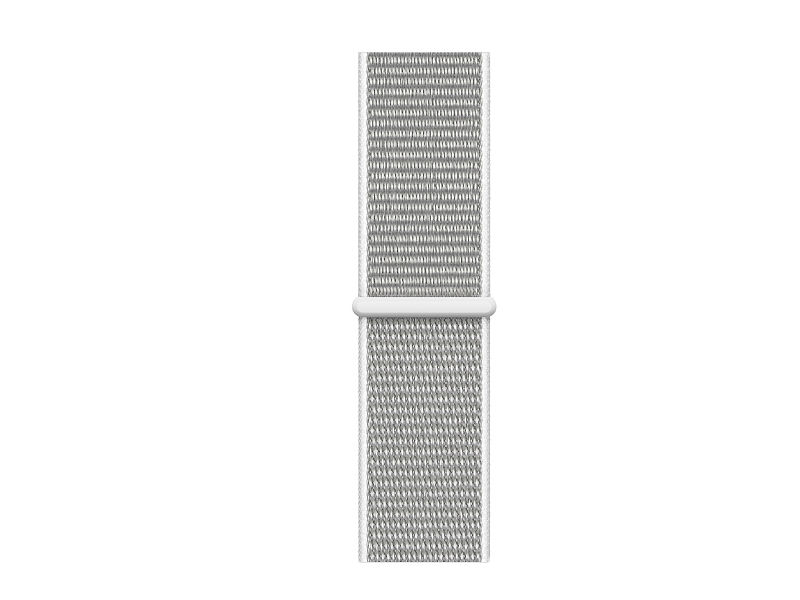 Аксессуар Ремешок APPLE Watch 40mm Sport Loop Seashell MTLV2ZM/A аксессуар ремешок apple watch 40mm sport band s m m l midnight blue mtph2zm a