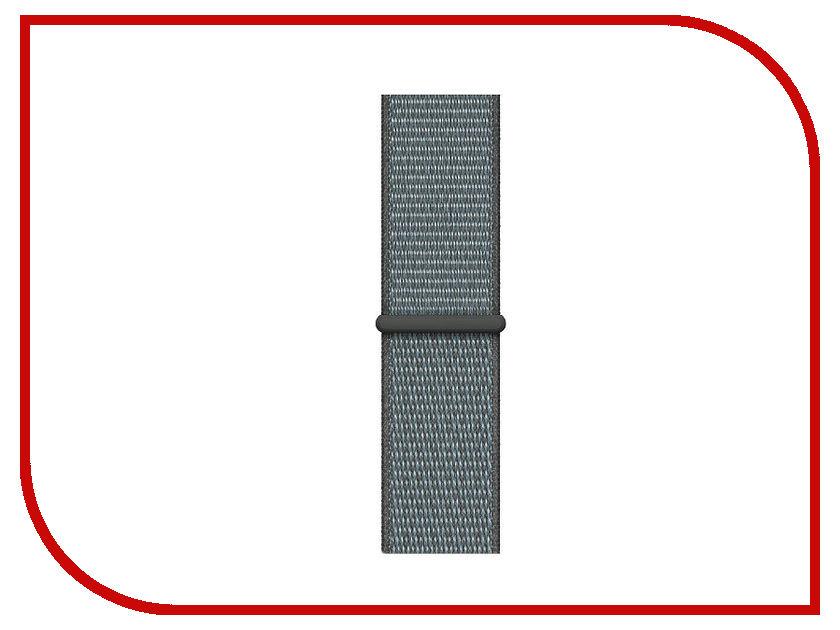 Фото - Аксессуар Ремешок APPLE Watch 40mm Sport Loop Storm Gray MTM02ZM/A peter hadley sport футболка
