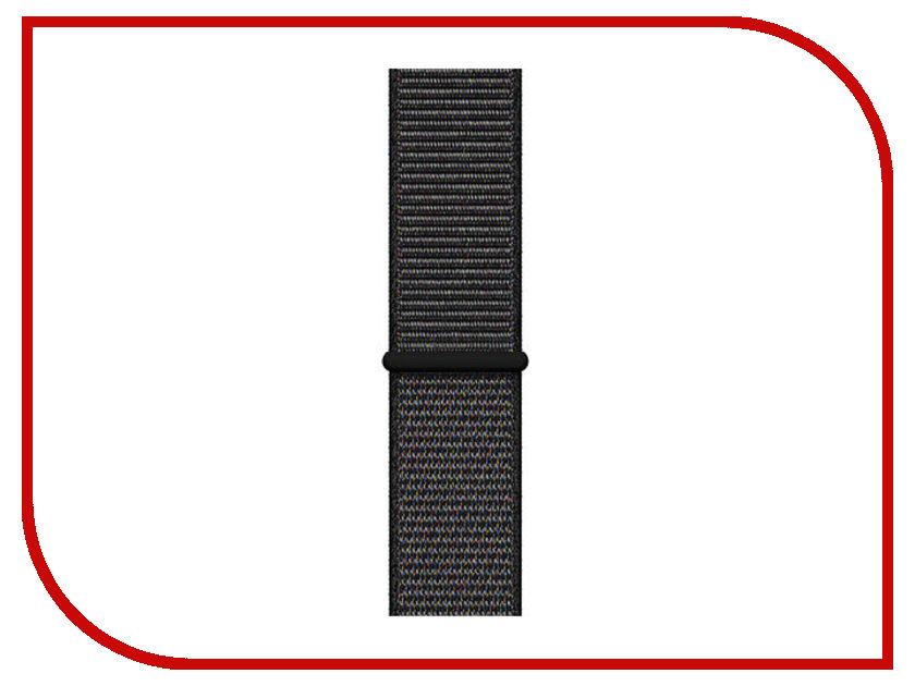 Аксессуар Ремешок APPLE Watch 44mm Sport Loop Regular Black MTM72ZM/A ремешок apple sport loop для watch 38 мм желтый неон